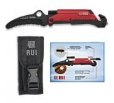 Couteau RUI Spécial Pompier Rouge