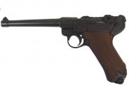 Pistolet  LUGER  P04/06 de Marine / 30 cm / Crosse Bois