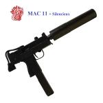 INGRAM  MAC  11 avec SILENCIEUX