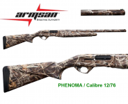FUSIL  PHENOMA  Armsan Camouflage Max 4 **  Cal 12/76