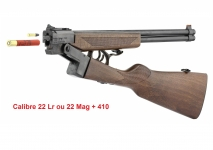 Carabine 22 Lr / 410  Double Badger