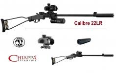 Pack Carabine Chiappa Little Badger  pliante Cal 22 LR mono-coup