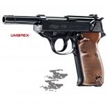 Pistolet à billes acier WALTHER  P38 «  Airguns »