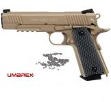 Pistolet à billes acier  COLT  M45  CQBP  Désert « UMAREX »