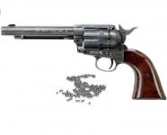 Revolver à billes acier  COLT  S.A.A.45  Finition Antique