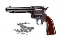 Revolver à billes acier COLT  S.A.A.45  Finition Bronze bleutée
