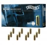 Cartouches de Défense 'Walther' x50  Cal. 9 mm PISTOLET
