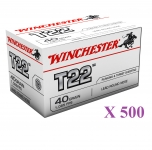 Cartouches 22LR Target Winchester 500