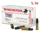 Cartouches 22LR Target Winchester 50