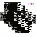 Cartouches 22LR ELEY  MATCH  X 500