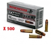 24  Cartouches 22LR super seed X 500