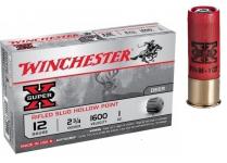 Cartouches  Balles Winchester Slug Hollow Point   Cal 12/70