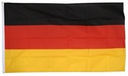 Drapeau nylon Allemagne   de 150 x 90