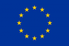 Drapeau nylon Europe   de 150 x 90