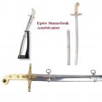 Epée  de Mamelouk  Américaine  réplique d'après la célèbre USMC