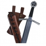 Epée de Frappe Médiévale Pommeau tréflé