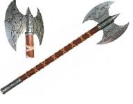 Hache Viking double lame