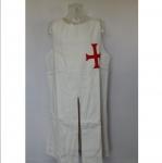 Tunique de templier avec croix
