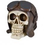 Crâne  tête de mort PILOTE