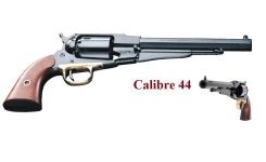 Revolver à poudre noire Remington 1858 Cal. 44