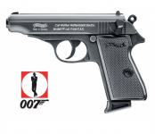 Pistolet WALTHER PPK * Réplique PPK  James Bond 007