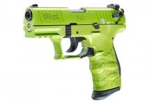 Pistolet  WALTHER  P22Q  ZOMBSTER Vert (Réplique)