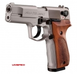 Pistolet  WALTHER  P88 Chrome Cross Bois (Réplique)