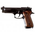 Pistolet BERETTA Mod.92  Crosse bois (Réplique)