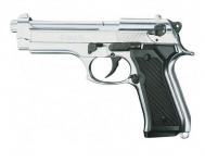 Pistolet BERETTA  Nickelé Chrome Mod 92 (Réplique)