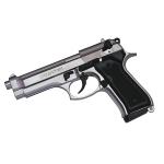 Pistolet  Mod. 85 Auto  Nickelé CHROME (Réplique)