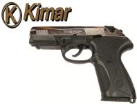 Pistolet PK4  Nickelé Chrome (Réplique)
