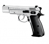 Pistolet Mod. Auto 75  Nickelé Chrome (Réplique CZ)