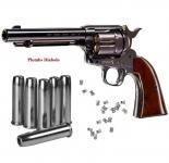 Revolver  COLT  S.A.A.45  Finition Bleutée