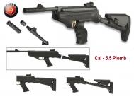 Pistolet Hatsan Mod.25 Supercharger  avec cross tactical / Cal 5.5
