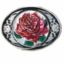 Boucle de Ceinture Rose