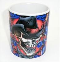 Mug   TETE de SKUL  Confédéré