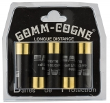 Cartouches gomm-cogne longue distance Cal. 12/70