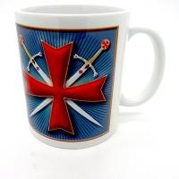 Mug croix templière