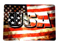 Tapis de souris   « USA sur Drapeau américain »
