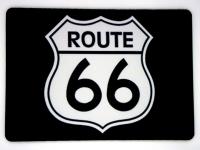 Tapis de souris « Route 66 blanc »