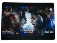 Tapis de souris « Civil War Face à Face »