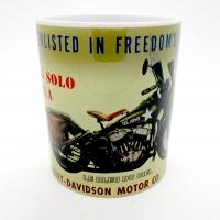 Mug Harley davidson US Army