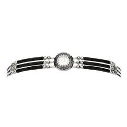 Bracelet 3 Fils Conchas Onyx