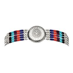 Bracelet 5 Fils Conchas Pierre multiple