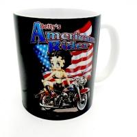 Mug BETTY BOP Américan Rider