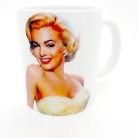 Mug Marilyne Monro en couleur