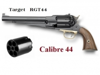 Revolver à poudre noir  Remington 1858 Target Cal. 44