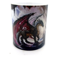 Mug  dragon rouge