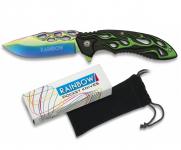Couteau Pliant Rainbow ( Tribal)