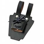 Porte épée cuir noir